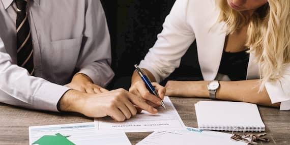 Protocolo de firma de las inversiones inmobiliarias